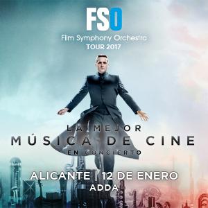 LA MEJOR MUSICA DE CINE - FSO Tour 2017