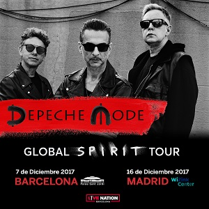 "Depeche Mode ""Global Spirit Tour"""