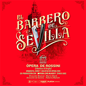 Ópera 2001 presenta EL BARBERO DE SEVILLA