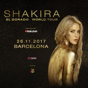 SHAKIRA EL DORADO WORLD TOUR - Barcelona 2ºDia