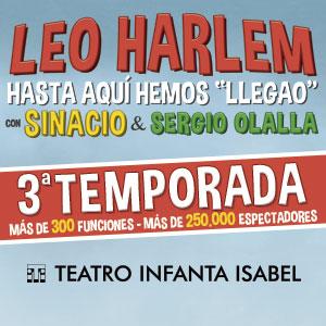 HASTA AQUI HEMOS LLEGAO - LEO HARLEM