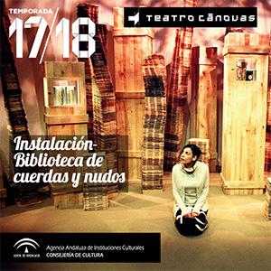 INSTALACIÓN - BIBLIOTECA DE CUERDAS Y NUDOS