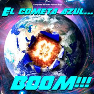 EL COMETA AZUL ... BOOM¡¡¡
