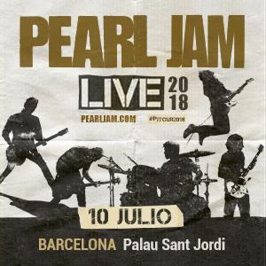 PEARL JAM LIVE - BARCELONA 2018