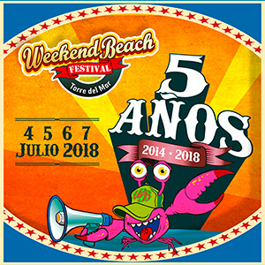 FESTIVAL WEEKEND BEACH TORRE DEL MAR 2018