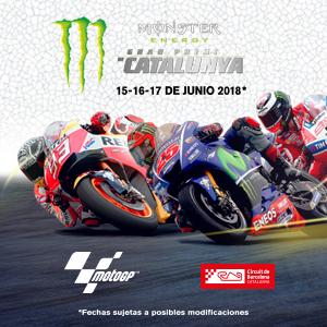 Entradas Gp Monster Energy De Catalunya De Motogp 2018 En Barcelona