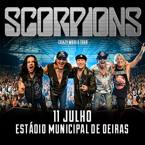 "SCORPIONS ""CRAZY WORLD TOUR"""