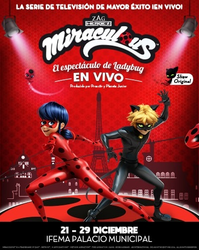 Entradas Miraculous El Espectaculo De Ladybug En Madrid El