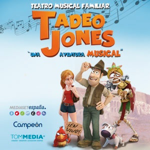 Tadeo Jones, Una Aventura Musical