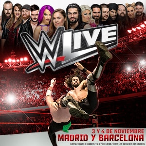 WWE LIVE - MADRID