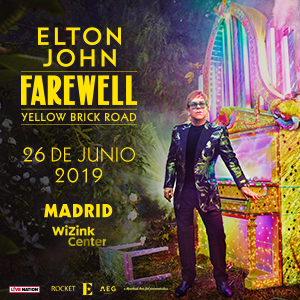 "Elton John ""Farewell Yellow Brick Road"""
