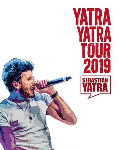 8d00975686193 Concierto Sebastián Yatra - Yatra Yatra Tour 2019 en Sevilla
