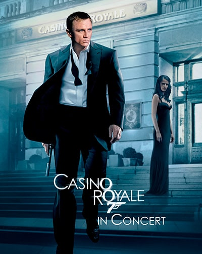 James Bond Casino Royale en concierto