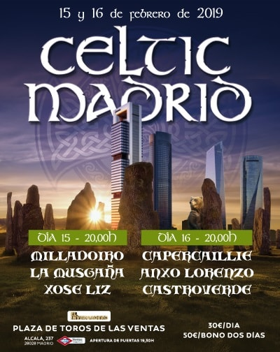 Celtic Madrid en El Invernadero