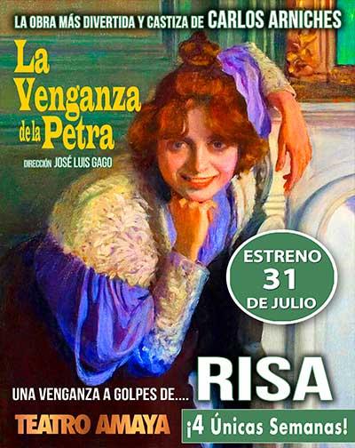 19141d51cde La Venganza de la Petra en Madrid | Entradas El Corte Inglés