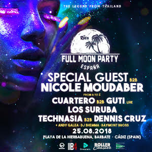 Full Moon Party: España