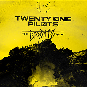 TWENTY ONE PILOTS - THE BANDITO TOUR
