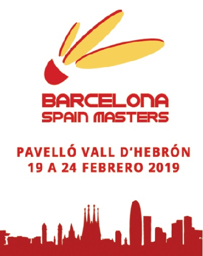 Barcelona Spain Masters FINAL. Badminton