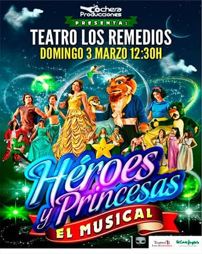 3456e64c62 Entradas Héroes y Princesas. El Musical en Sevilla | El Corte Inglés