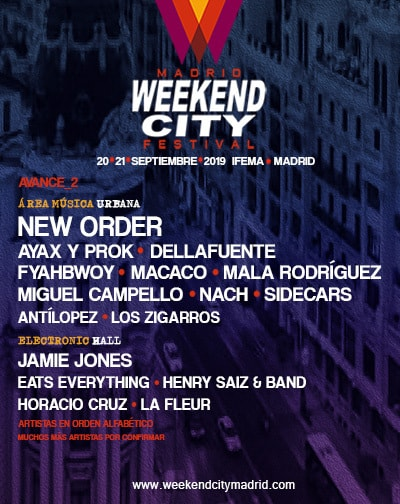 Festival Weekend City Madrid