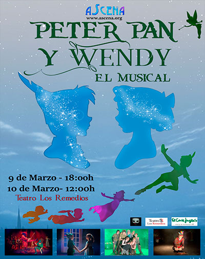Peter Pan y Wendy - El Musical