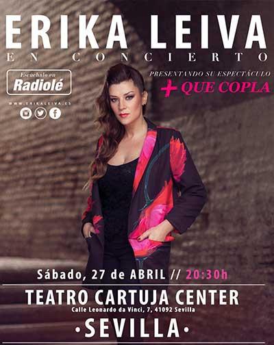 fb24fb1cc Erika Leiva, Más que Copla en Sevilla | Entradas El Corte Inglés