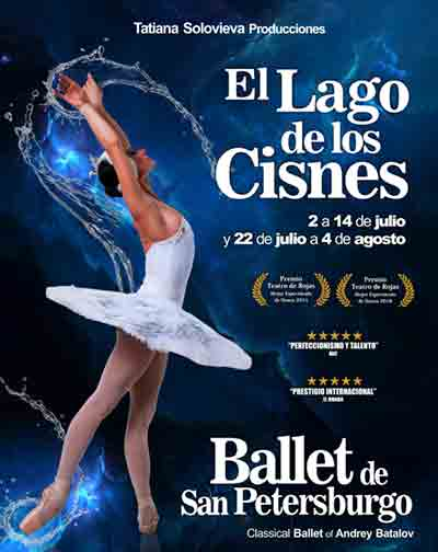 El Lago de los Cisnes - Ballet de San Petersburgo en Madrid 50e0fe05897