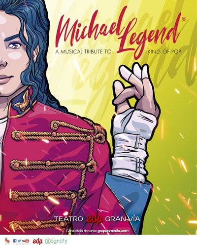 Michael Legend - Tributo a Michael Jackson en Madrid