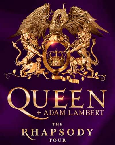 "Queen + Adam Lambert ""The Rhapsody Tour"""
