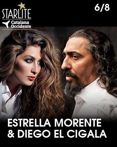 Estrella Morente y El Cigala - Festival Starlite Catalana Occidente 2020