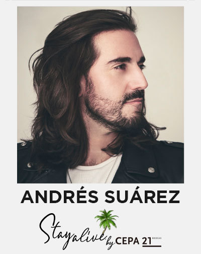 Andrés Suárez en Stay Alive by Cepa21