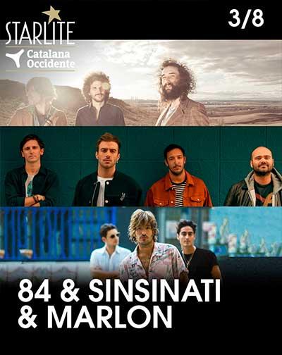 Sinsinati & 84 & Marlon - Festival Starlite Catalana Occidente 2020