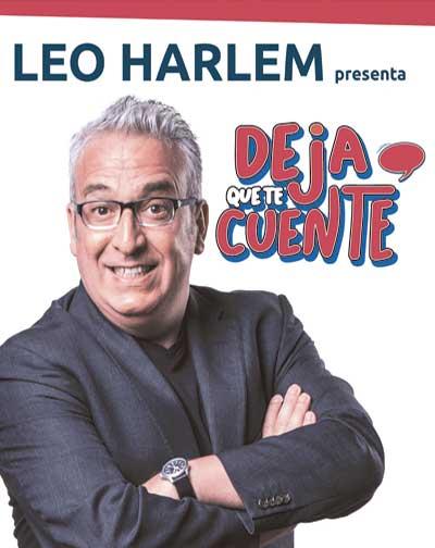 """Leo Harlem """"Deja que te cuente"""""""
