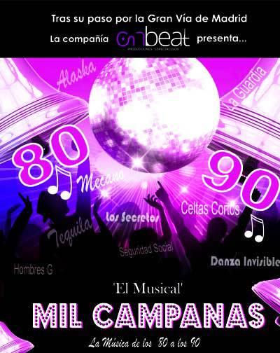 Mil Campanas El Musical En Madrid Entradas El Corte Inglés
