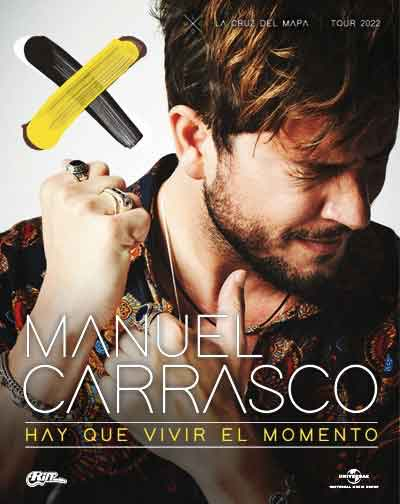 Manuel Carrasco - Gira La Cruz del Mapa