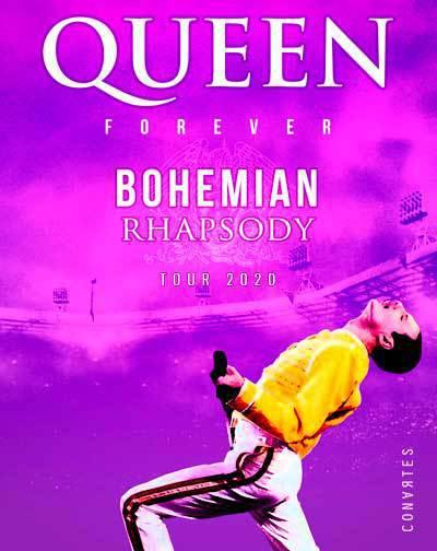 Queen Forever-Gira Bohemian Rhapsody