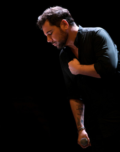 Miguel Poveda - Cabaret Festival Algeciras