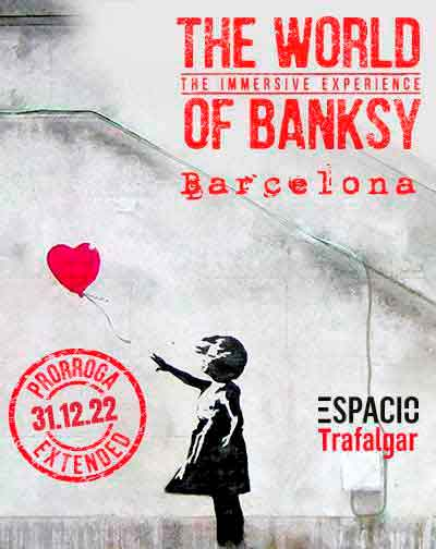Entradas The World Of Banksy - The Immersive Experience en Barcelona